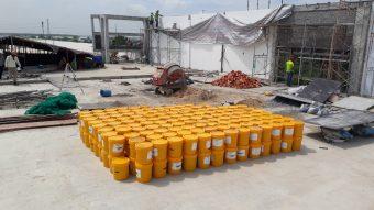Sơn chống thấm chuẩn bị cho công trình chuẩn bị làm chống thấm