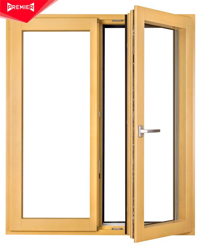 Các hệ được sử dụng cho cửa sổ nhôm kính giả gỗ