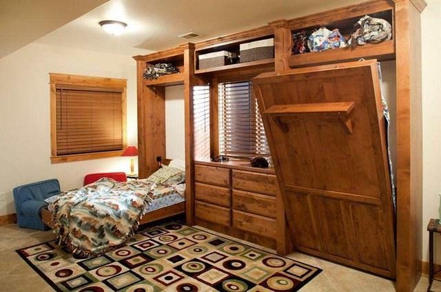 Giường gấp đa năng đang trở thành xu thế nội thất mới