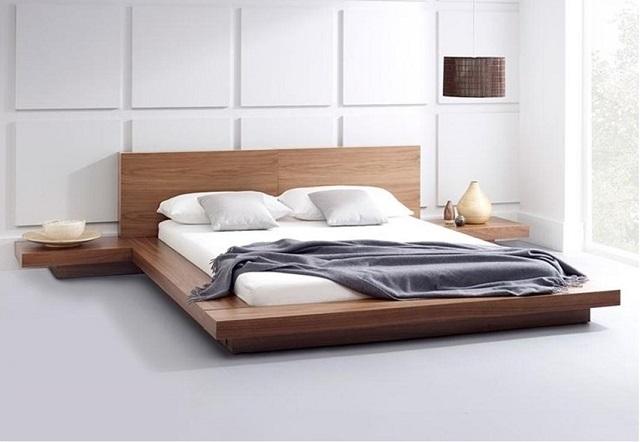 Giường gỗ công nghiệp hiện đang rất được ưa chuộng