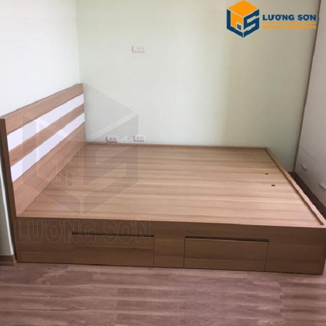 Nội thất Lương Sơn địa chỉ mua giường gỗ công nghiệp giá rẻ chất lượng cao cấp